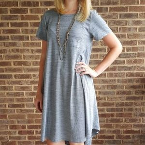 LuLaRoe Carly Hi-Low Swing Dress with Pocket